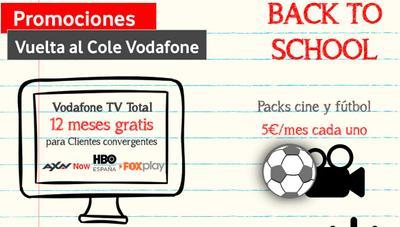Vodafone responde a Movistar y sus ofertas de fútbol ofreciendo un año gratis su televisión