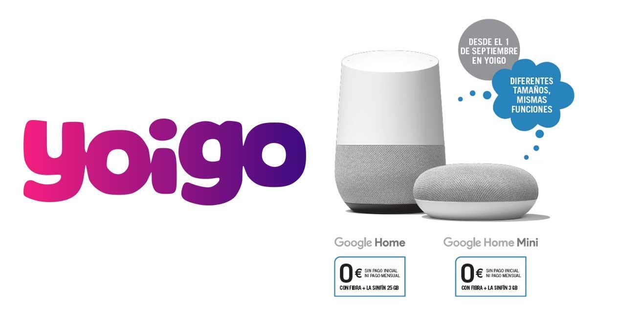 yoigo google home gratis