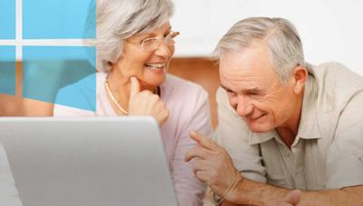 Cómo configurar Windows 10 para personas mayores