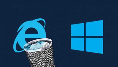 Cómo borrar Internet Explorer en Windows 10