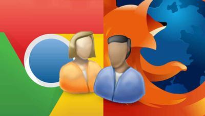 Cómo crear un nuevo perfil de usuario en Chrome y Firefox