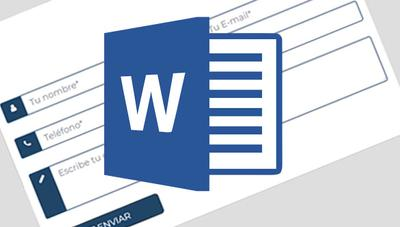 Cómo crear un formulario personalizado en Word