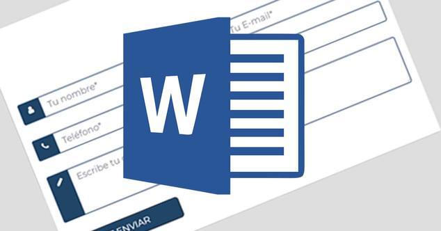 Ver noticia 'Cómo crear un formulario personalizado en Word'