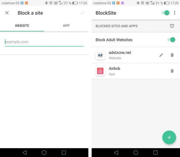 bloquear el acceso a cualquier web