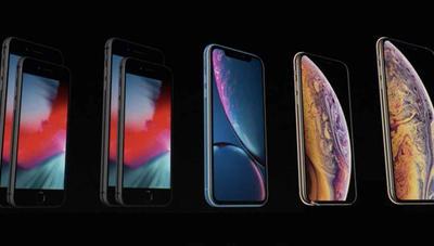 Comparativa de los nuevos iPhone: XS, XS Max y XR frente a iPhone X, 8 Plus y 8
