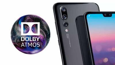 Con los Huawei P20 tendrás Dolby Atmos, el mejor sonido del mundo
