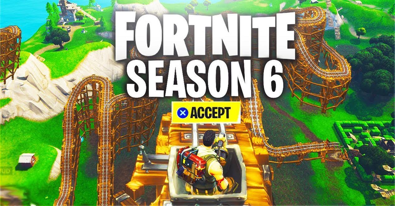 Sexta temporada Fortnite
