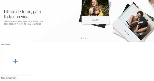 google photos album fisico photobook