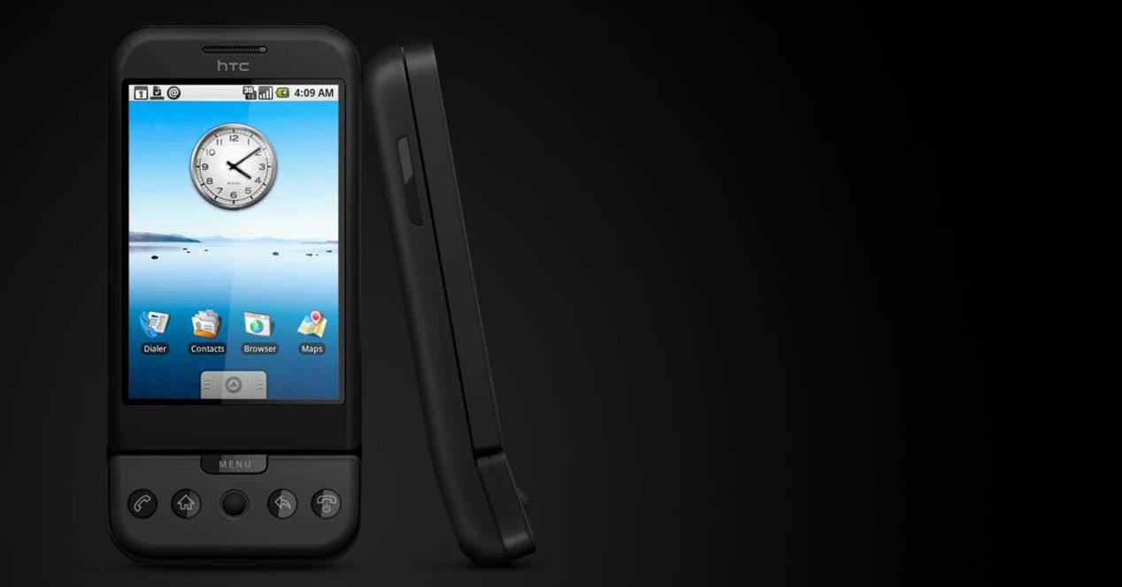 Ver noticia 'Diez años del primer móvil Android, el T-Mobile G1 o HTC Dream'