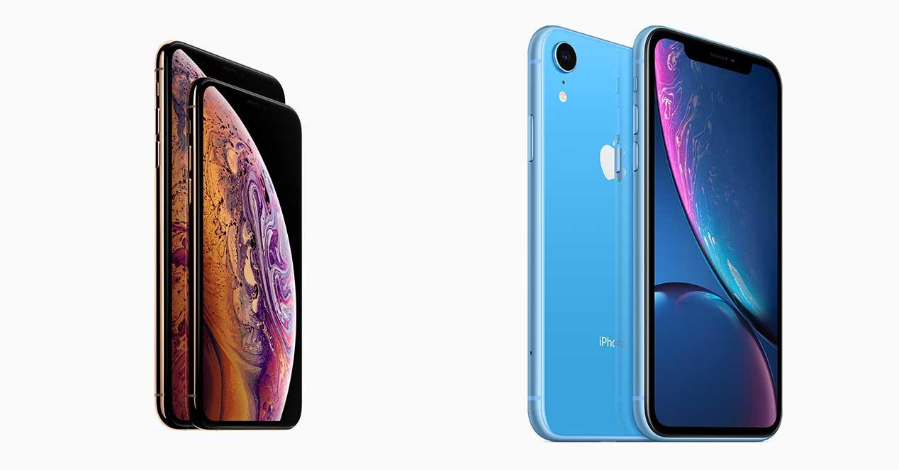 comparativa iphone xr vs iphone xs iphone xs max frente a android. Black Bedroom Furniture Sets. Home Design Ideas