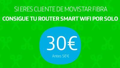 Movistar extiende la promoción para conseguir su router Smart WiFi por sólo 30 euros