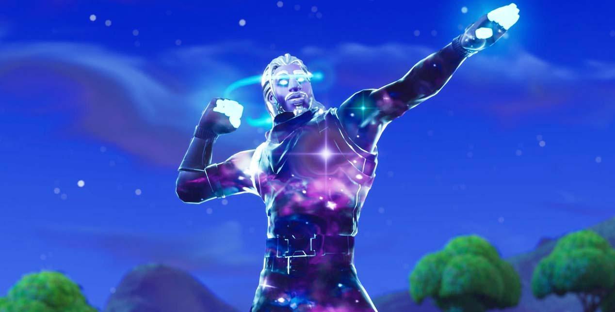 Han descubierto cómo conseguir la exclusiva skin Galaxy de