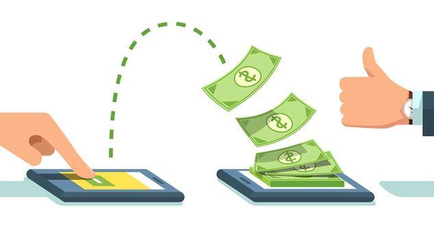 transaccion dinero internet