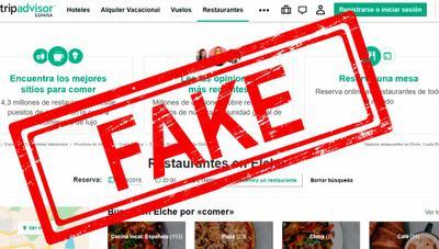 Cárcel por vender opiniones falsas en TripAdvisor