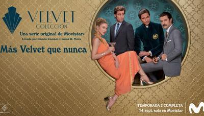 Velvet Colección, todo el glamour y la moda de los 60 brillará de nuevo en Movistar+