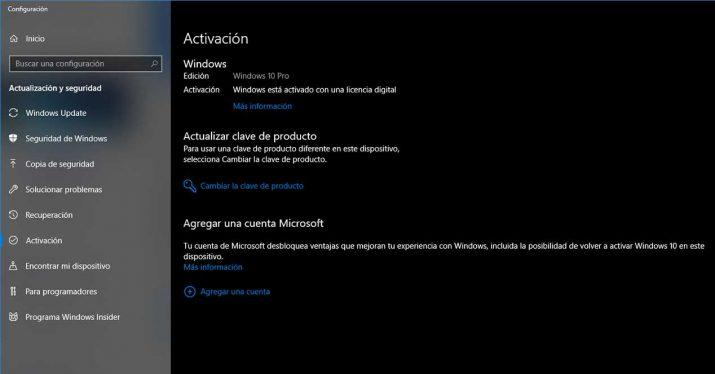 windows 10 activado