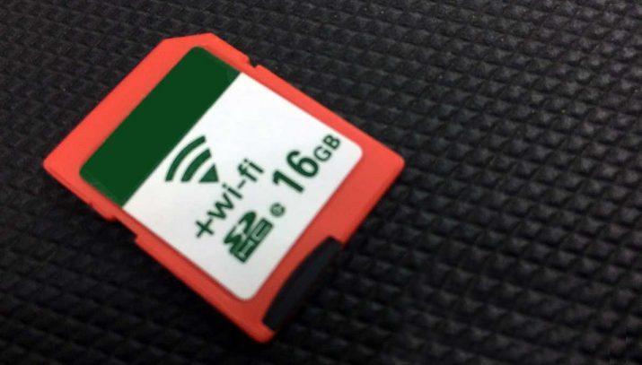 tarjetas SD con WiFi