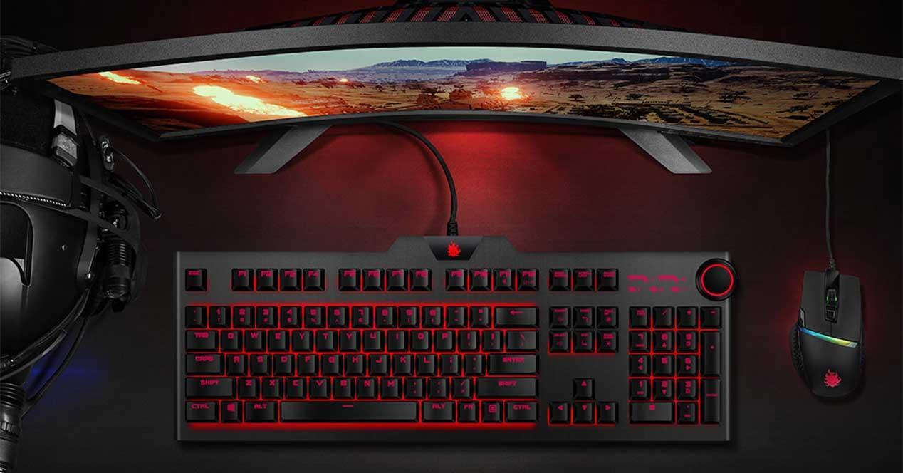 xiaomi y520 teclado mecanico lite