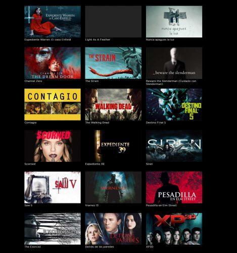 películas de miedo HBO