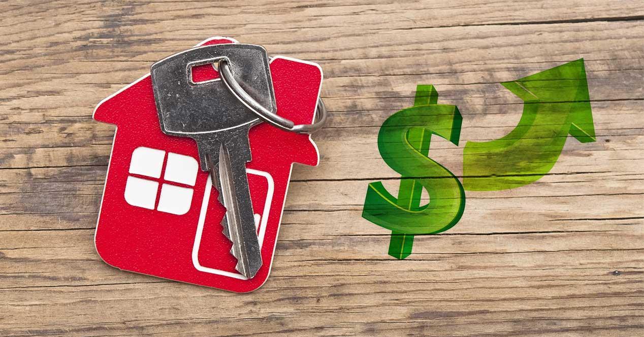 airbnb precio alquiler subida