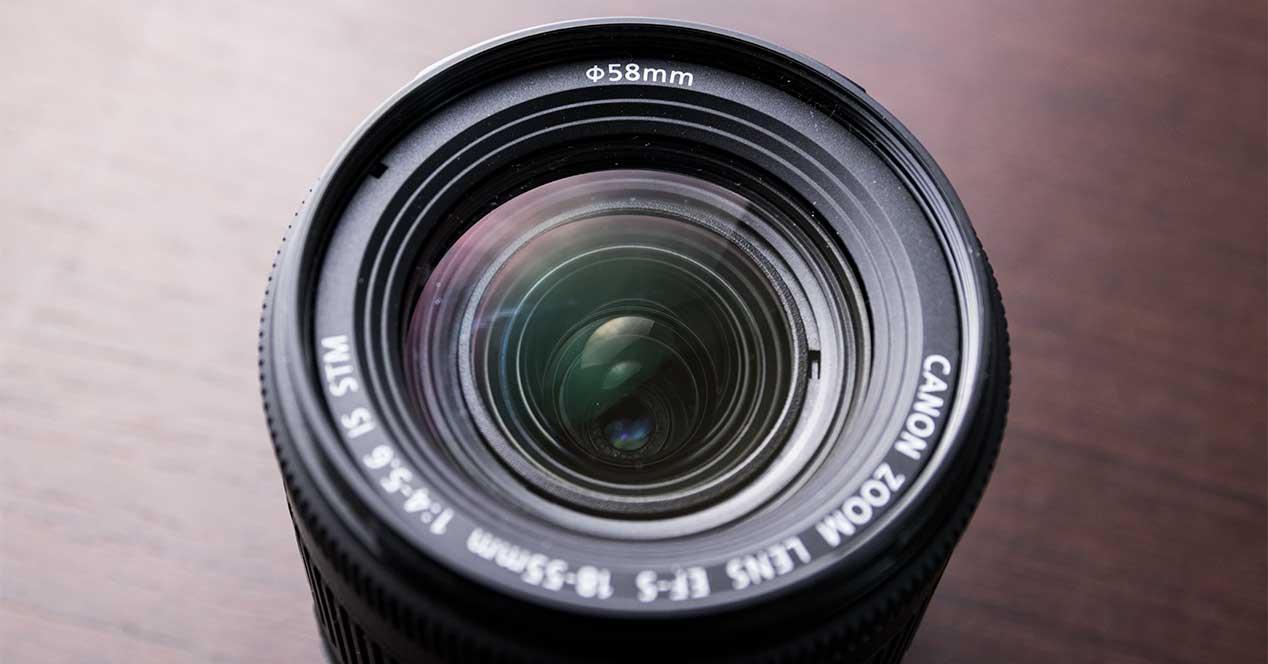 canon lente objetivo