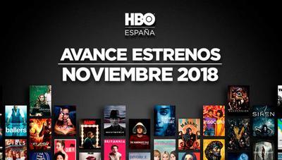 Estrenos en HBO en noviembre 2018: Nuevas series y películas