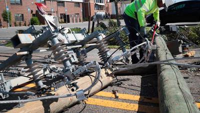 Las redes de fibra óptica son otra víctima del huracán Michael