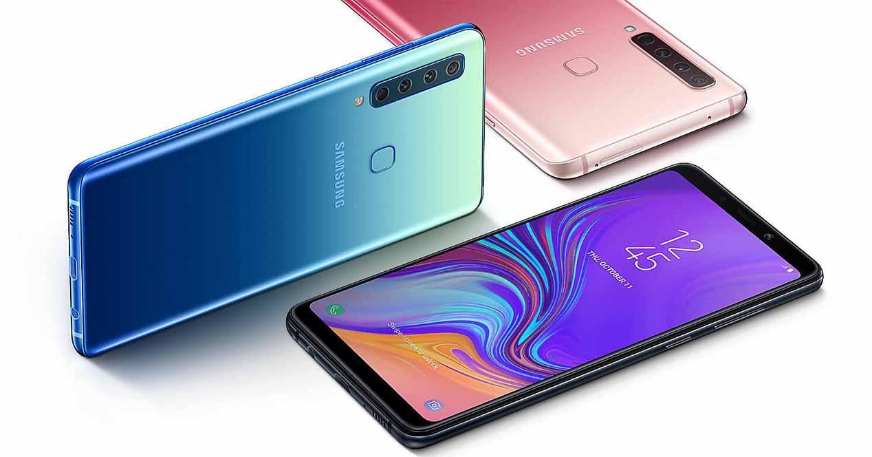 Samsung Galaxy A9 (2018): primer móvil del mundo con cuatro cámaras