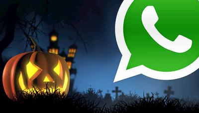 Cómo enviar stickers de Halloween en WhatsApp