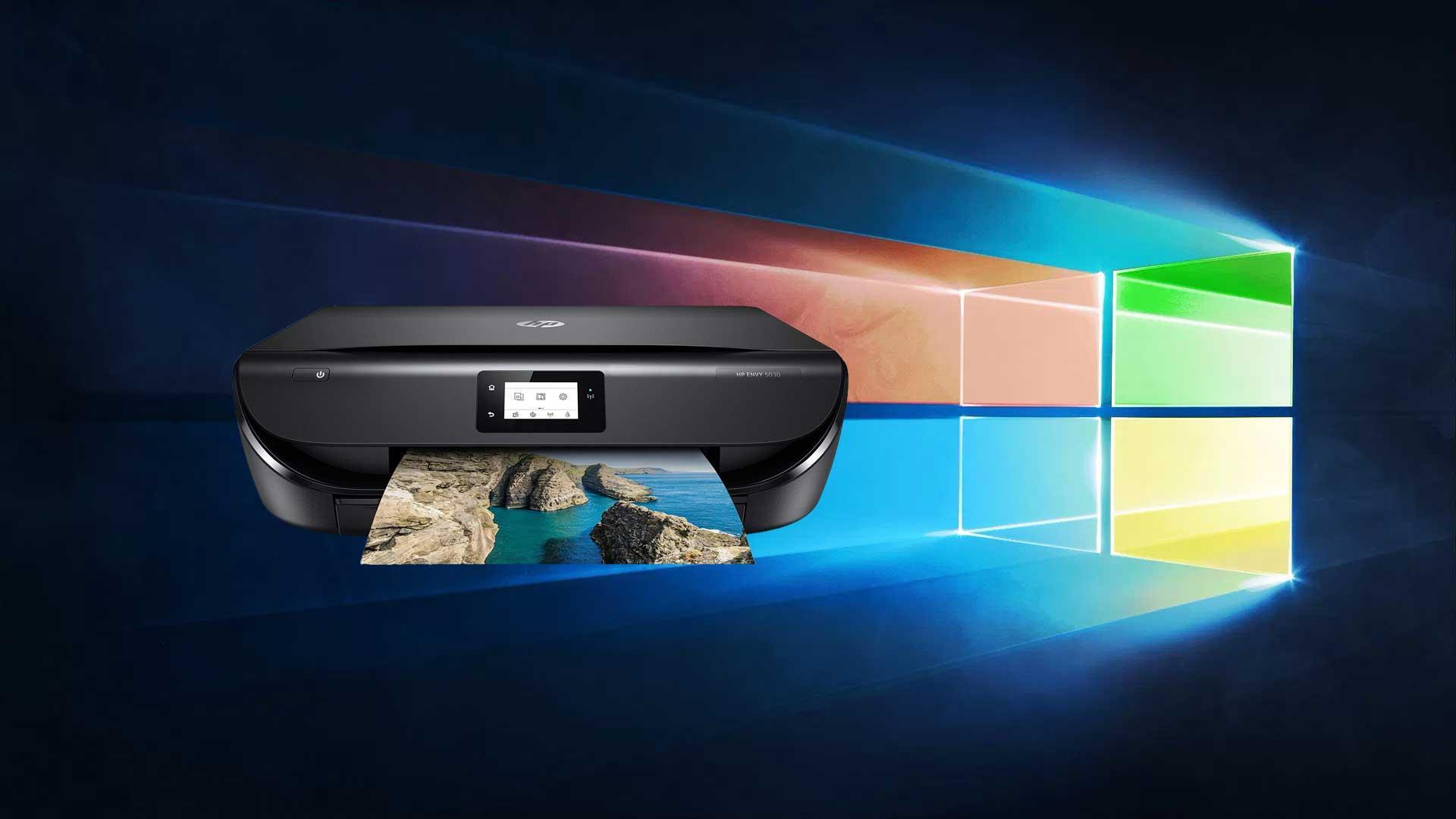 hp impresora windows 10