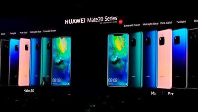 Comparativa: Huawei Mate 20 y Mate 20 Pro frente a la competencia en la gama alta