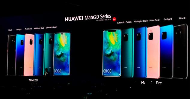 Ver noticia 'Comparativa: Huawei Mate 20 y Mate 20 Pro frente a la competencia en la gama alta'