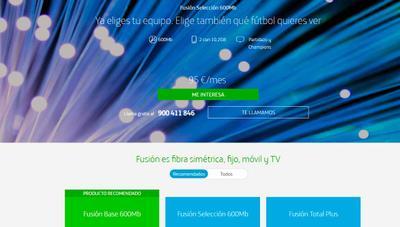La letra pequeña de las nuevas tarifas Movistar Fusión que ya se pueden contratar