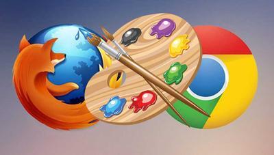 Cómo personalizar y cambiar los colores de Chrome y Firefox