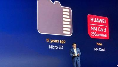 NM Card: así son las sustitutas de las tarjetas microSD para móviles