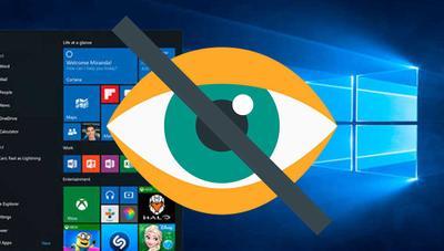 Cómo ocultar una aplicación en Windows 10 para que nadie pueda usarla ni desinstalarla