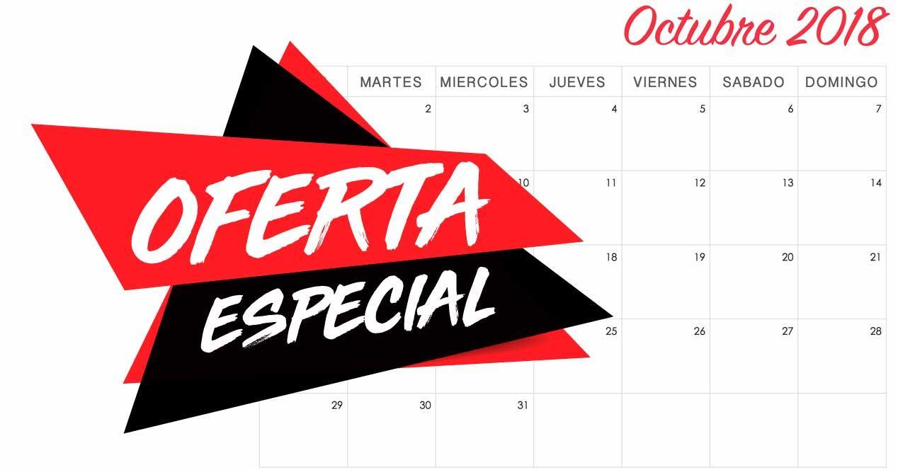 ofertas octubre 2018