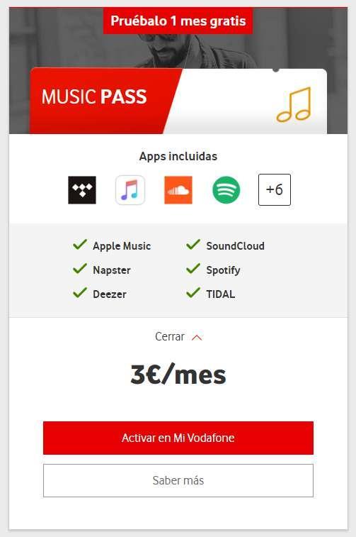 music pass
