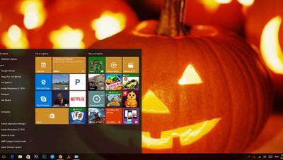 Cómo instalar el tema de Halloween de Windows 10