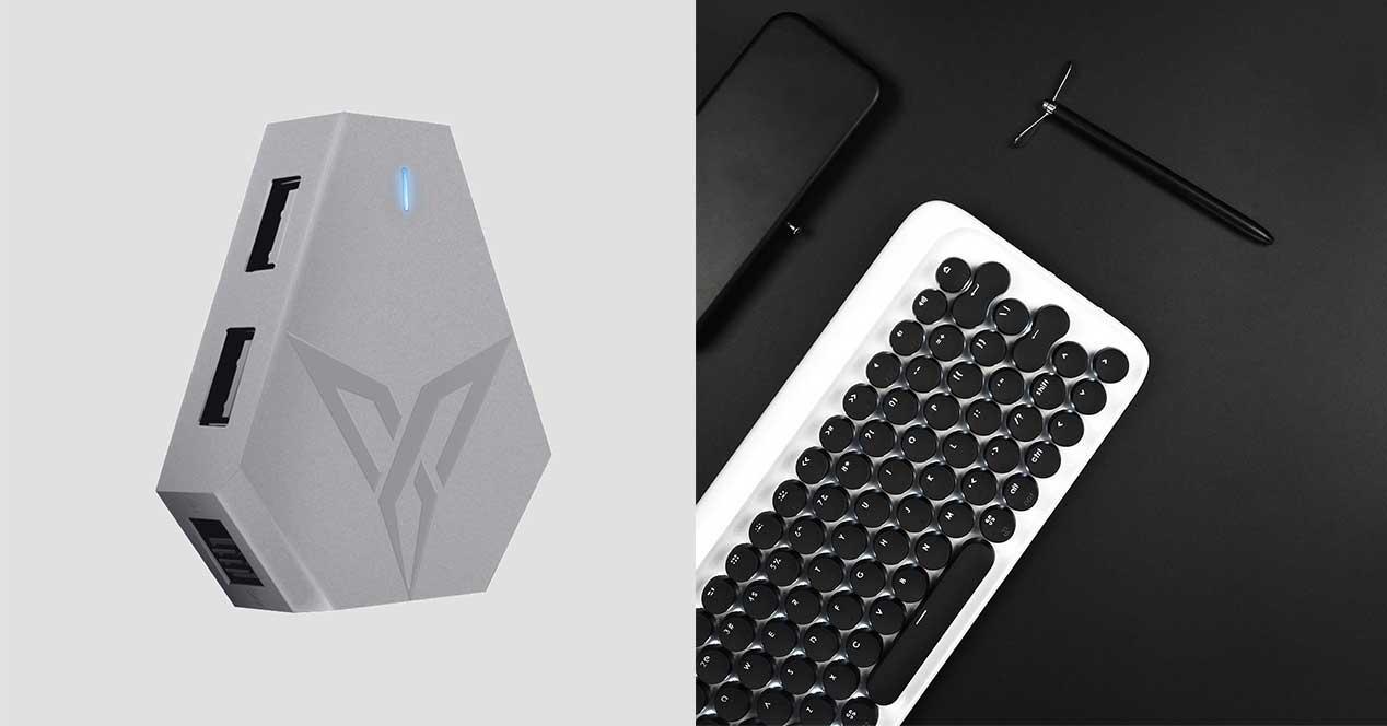 xiaomi teclado adaptador