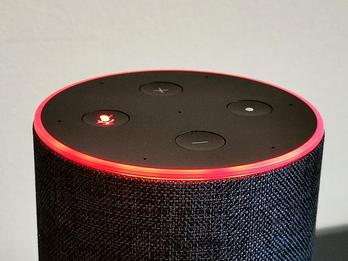 amazon echo circulo rojo