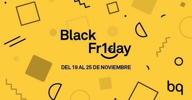 Ver noticia 'Consigue móviles, tablets o e-readers por sólo 1 euro en el Black Friday de BQ'