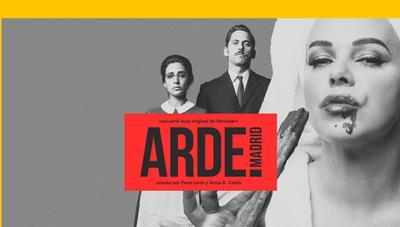 Arde Madrid, la nueva y original serie de Paco León, llega en exclusiva a Movistar+