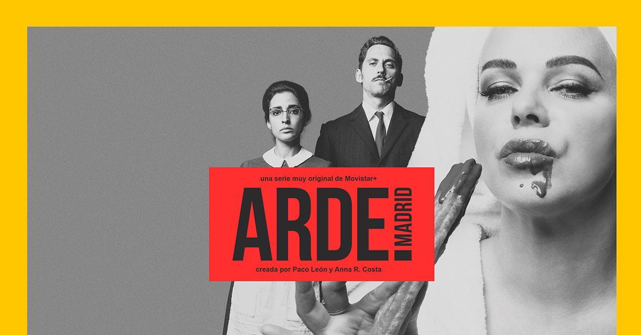 Arde Madrid Nueva Y Original Serie De Paco León Llega En Exclusiva A Movistar