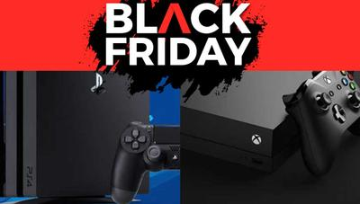 Ofertas en Amazon de PS4 y Xbox para el Black Friday