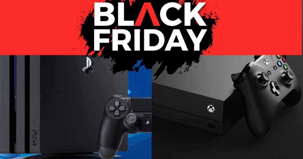 Ver noticia 'Noticia 'Ofertas en Amazon de PS4 y Xbox para el Black Friday''