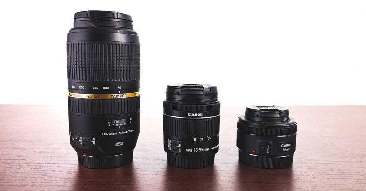 canon lentes fijas zoom