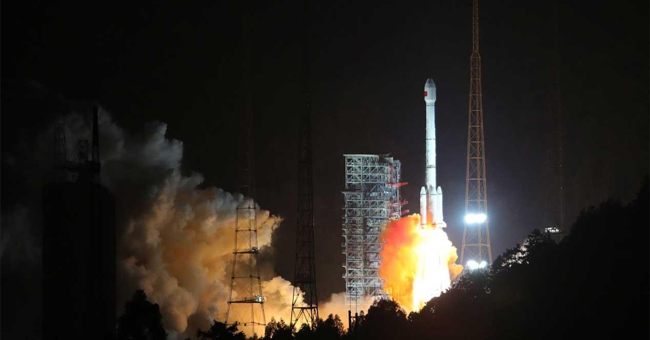 cohete satelite beidou