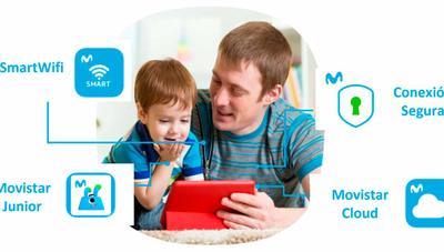 Conexión Segura, Movistar Junior y Movistar Cloud, nuevos servicios gratis para Fusión
