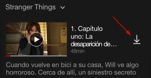 descargar una película de Netflix
